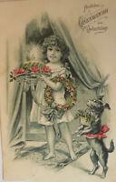 """""""Geburtstag, Kinder, Kuchen, Hund, Kerze"""" 1906 ♥"""