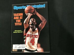 Sports Illustrated Magazine February 22, 1982  Aim at the Title Sidney Moncrief