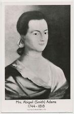 Mrs. Abigail (Smith) Adams Wife of 2nd US President John Adams RPPC