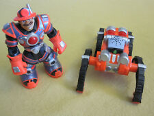 Fisher-Price Rescue Heroes Robotz Billy Blazes & Firestomper - Used