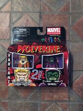 Marvel Minimates FIRST APPEARANCE SABRETOOTH & SKRULL Wave 28 X-Men Wolverine
