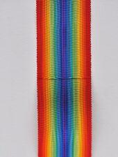 Ruban de la médaille de la France Libérée 1944, tissage ancien