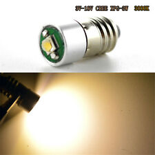 1xWarm White 3-18V CREE 3W E10 1447 Style Screw In Led Bulb Light for DIY LIONEL