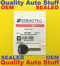 NEW Buick Logo GM PK3 Transponder Chip Key PT04-PT STRATTEC 691205 SEALED