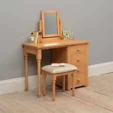 oakley pine dressing/Computer Desk/ table set Quality Dovetailed