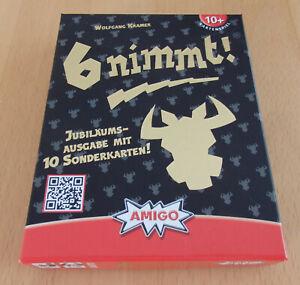 6 nimmt! (Amigo) Jubiläumsausgabe - Auswahlliste Spiel des Jahres 1994
