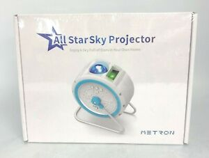 New Metron All Star Sky Projector LED Galaxy Star Bedroom Light Rotating 3057 CP