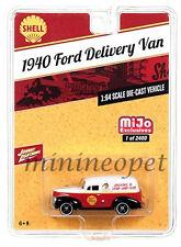 JOHNNY LIGHTNING JLCP7016 1940 FORD DELIVERY VAN SHELL 1/64 DIECAST MODEL