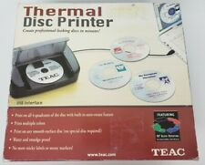 New Open Box TEAC P-11 Kit CD/DVD Thermal Disc Printer bundle Auto Rotating A4