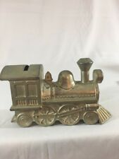 "Locomotive Piggy Bank Train 6"" Long"