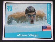 Michael Phelps USA #29 - Panini Sticker - London 2012