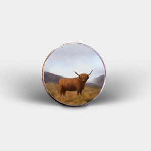 Exclusive Highland Wildlife Fridge Magnets (Puffin, Stag, Deer, Highland Cow..)