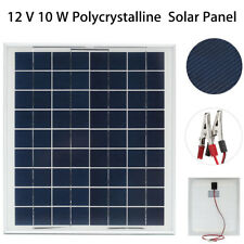 12V 10W Polycrystalline Silicon Photovoltaic Polysilicon Solar Panel Vmp:18V