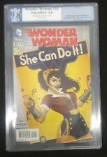 """Wonder Woman #32 PGX 9.8 NM+ (NOT CGC) """"Bombshell Cover"""" ANT LUCIA variant"""