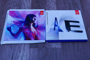 Adobe After Effects CS6 pre-owned retail GENUINE Mac OS X 10.12 & lower