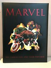 Marvel The Characters and Their Universe HC - Spider-Man Hulk Wolverine Thor