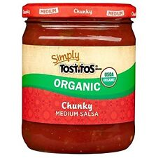 Simply Tostitos Organic Chunky Mild Salsa 15.5 Oz (1 Jar)