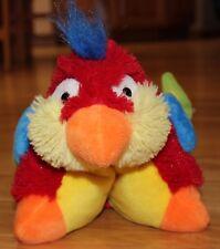 "11"" Pee-Wees Pillow Pet Red Tropical Parrot Luau Plush Toy Stuffed Animal Pal"
