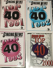 Singing News Songbook Lot 91,92,93, And. 2000
