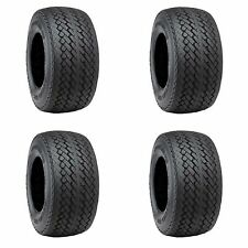 Golf Cart Tires Set of 4, 18x8.50-8 Duro D.O.T Sawtooth G/C73 Stock Height Tires