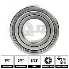 1x Ssr4azz Stainless Miniature Ball Bearing Replacement 14in X 34in X 932in