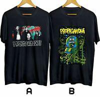 Propagandhi Punk Rock Band Heavy Metal Mens Black Tshirt Size S-3XL