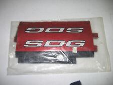 NOS red SDG pad set