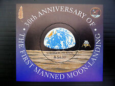 SOLOMON ISLANDS Wholesale $4 Moon Landing Apollo 11 M/Sheet x 50  FP1068
