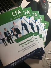2017 Schweser Notes for CFA Level 1 Exams (Dec exam)