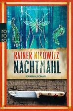 Nachtmahl von Rainer Nikowitz (2015, Taschenbuch) UNGELESEN