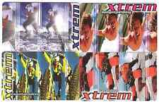 4 German phonecards extreme sports.