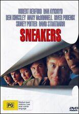 SNEAKERS (Robert REDFORD Dan AYKROYD Sidney POITIER River PHOENIX) DVD NEW SEALD