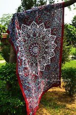 Indian Star Hippie Mandala Tapestry Psychedelic Wall Hanging Twin Throw Ethnic