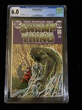 1972 DC Comics Swamp Thing #1, 10-11/72, CGC 6.0 Off-White To White Pages 6021