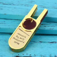 Aluminum two-finger Keychain Self Defense Cuspidal Car Window wave Tactical Tool