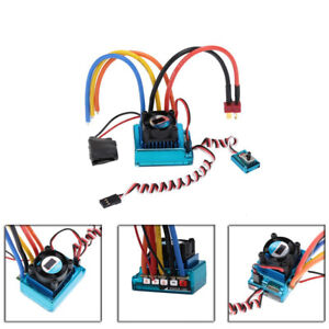 45/60/80/120A Brushless ESC Electric Speed Controller for 1/10 RC Car Spare Part