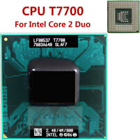 Per Intel Core 2 Duo T7700 2,4GHz Prozessor CPU SLA43 SLAF7 Socket P 4M 800MH RH