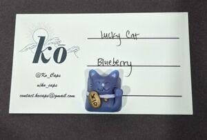 Ko Caps Lucky Cat Artisan Keycap Blueberry (Cherry MX)