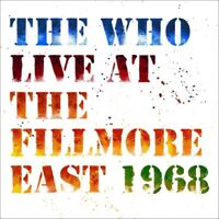 The Who - Live At The Fillmore East 1968 [Deluxe 2CD] Brand New & Sealed