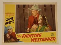 1950 Fighting Westerner #3 Lobby Card 11x14 Randolph Scott Leslie Carter