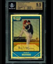 2007 BOWMAN CHROME BRANDON MORROW CUBS SUPERFRACTOR 1/1 BGS 9.5 TRUE FIRST RC