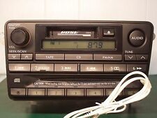 2001 INFINITI QX4 RADIO 6 CD CHANGER W AUX INPUT PN-2411N CNB78