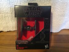 Star Wars The Force Awakens Black Series Titanium First Order Tie Fighter B4582