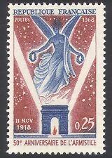 France 1968 Victory/WWI/Angel/War/Arc de Triomphe/Military 1v (n36917)