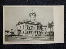 Early 1900's The Duval County Court House in Jacksonville, Fl Florida PC