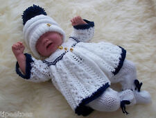 "Knitting Pattern  14-16"" TO KNIT Dolls Clothes Reborn Early Baby 'Andy'  #37"