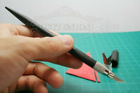 Leathercraft One Knife Cowhide Cutter With 12 Blades For Cut Paper Cloth Leather