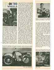 1964 GREEVES 250cc CHALLENGER MOTORCYCLE  ~  GREAT ARTICLE