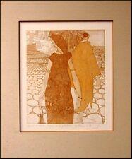 Guillaume Azoulay Kaftan & Jellabieh Hand Signed Original Etching Art Artwork