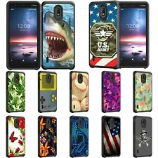 For Nokia 3.1C / Nokia 3.1A / 3.1 Hybrid Dual Layer Fitted Protective Slim Case